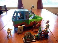 "Vintage Scooby-Doo ""Mystery Machine"" 10"" Van with Accessories"