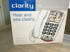 CLARITY  P300 Amplified Corded Photo Phone LARGE BUTTON HEARING LOUD PHONE