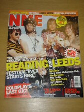 NME 2003 AUG 23 COLDPLAY METALLICA BLACK REBELS THRILLS