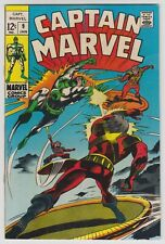 L9498: Captain Marvel #9, Vol 1, VF+/NM Condition