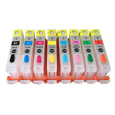 Canon CLI-8 CLI8 PRO 9000 PRO9000 refill ink Cartridges with ARC chips empty