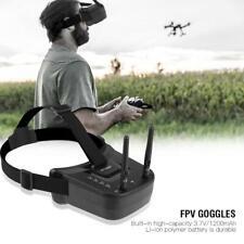 5.8G 40CH Mini FPV Goggles Video Glasses w/1200mAh Battery for RC Racing Drone