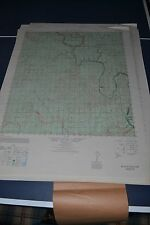 1940's Army topo map Mouth of Pecos Texas Sheet 5743 III
