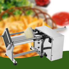 Commercial Electric Potato French Fry Fruit Vegetable Cutter Cut Machine+3Moulds