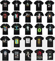 Summer Womens/mens RICK AND MORTY 3D print Short Sleeve Casual T-Shirts S-5XL Q2