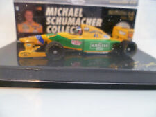 BENETTON FORD B 193 1/64 : MICHAEL SCHMACHER COLLECTION EDITION 64 N°12  ~  NEUF