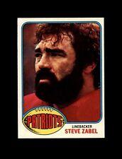 1976 Topps Football #188 Steve Zabel (Patriots) NM+