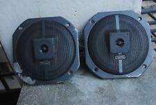 Oldtimer MAGNAT CAR 3 einbaulautsprecher paar für autoradio 80 WATT 2 wege
