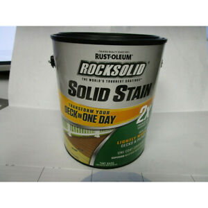 Rust-Oleum RockSolid Tint Base Solid Exterior Stain (RUS 305799-EBAY)