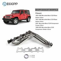 For 94-96 Mercedes-Benz C220/97-02 C230 Stainless Steel Exhaust Header Manifold