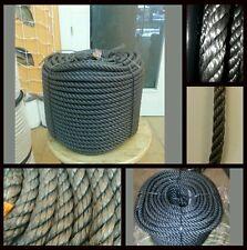 Cordage corde polyéthylène plastico10mm x 100 mètres