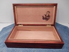 George Burns Wooden Cigar Box
