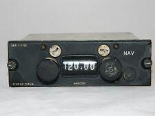 Ex RAF Aircraft Cockpit VOR/ILS Control Unit Type 7430M Marconi [R8C]