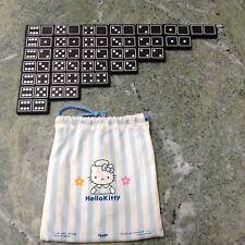Vintage Hello Kitty Wooden Dominoes Set