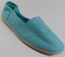 NEW Womens SODA OBJECT AQUA Fashion Slip On Loafers  PADDED Footbed Shoe SZ 8