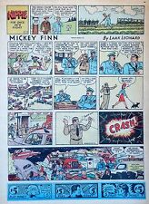 Mickey Finn by Lank Leonard - full tab page color Sunday comic - June 27, 1943