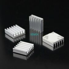10,000 Pcs 14x14x4mm Adhesive Aluminum Heatsink For VGA CPU GPU RAM IC Cooling