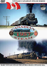 Canadian Steam 1957 Greg Scholl DVD NEW CN CP Vancouver Kamloops Coquitlam
