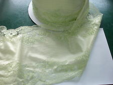 elastische spitze gelb 21 5cm breit Ao79