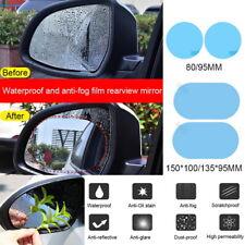 2 Rainproof Car Rearview Mirror Sticker Anti-fog Protective Film Membrane Shield