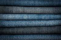 "Denim Fabric 100% Polyester Jeans Fabric 60"" Wide Sold By The Yard"