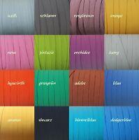 4-8 Meter Gummiband 9 mm viele Farben Gummilitze Gummi Wäschegummi elastisch