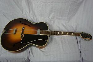 Rare Vintage Levin Archtop Guitar