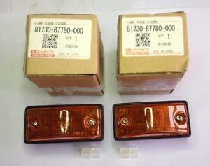 Daihatsu Rocky Feroza Blizzard Side Fender Turn Signal Lamp LH RH Genuine Parts