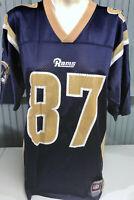 St. Louis Rams Los Angeles Proehl #87 Medium Reebok Jersey