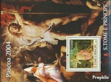 Sao Tome e Principe Block521 (compleet Kwestie) postfris MNH 2004 Pasen en Kerst
