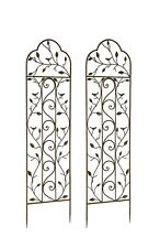 Set Of 2 X Nature Metal Garden Trellis   Wall Climbing Plant Support Frames