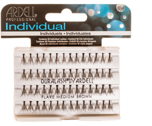 ARDELL FLARE KNOTTED  EyeLash Extensions LONG BROWN EYELASH Buy 2 Get 1  Free