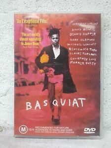 Basquiat DVD Jean Michel Basquiat Artist Biography Movie - REGION 4 AUSTRALIA