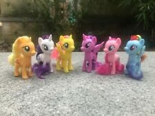 "My Little Pony MLP Movie Series 3"" Main Characters 6pcs Figures Set New Loose"