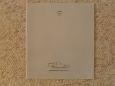 1986 Porsche 944 DELUXE Showroom Advertising Sales Brochure RARE!! Awesome L@@K