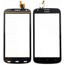 TOUCH SCREEN PER HUAWEI ASCEND Y600 NERO BLACK VETRO DISPLAY SCHERMO RICAMBIO