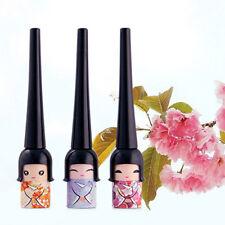 Waterproof Black Liquid Eyeliner Doll Eye Liner Pencil Pen Makeup Comestic Tool