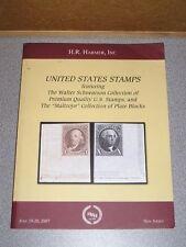H R Harmer STAMP AUCTION CATALOG United States US Stamps Sale 2975 June 2007