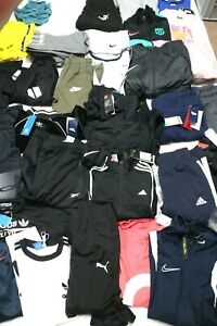 GREAT JOB LOT x 40 ASST LEISURE WEAR BRANDED NAMES KIDS AND ADULTS