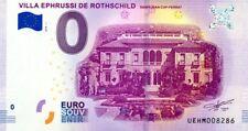06 SAINT-JEAN-CAP-FERRAT Villa Ephrussi, 2018, Billet 0 € Souvenir