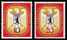 EBS West Berlin 1955 Bundestag in Berlin Michel 129-130 MNH**