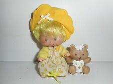 Vintage Strawberry Shortcake Butter Cookie with Jelly Bear Doll Figure 1979