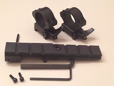 Steel no gunsmith scope mount British Lee Enfield 303 No 4 MK 1 2 & 5 + rings