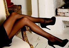 Q XL Peavey Pantyhose Drag Queen Cross Dresser hooters uniform 20 denier sheer R