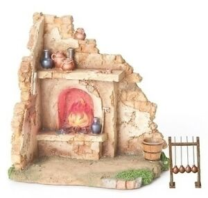 Fontanini Nativity Village Glassblower Shop 55570