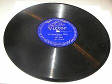 "Nora Bayes For Dixie & Uncle Sam / Homesickness Blues 10"" 78 Victor 45100 c.1916"