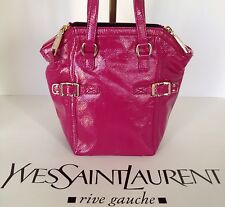 Yves Saint Laurent Bag DOWNTOWN  PATENT LEATHER PINK
