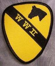 Embroidered Military Patch U S Army 1st Cavalry WW2 NEW
