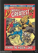 Marvel's Greatest comics #34 F+ 1970s Bronze Age Fantastic Four