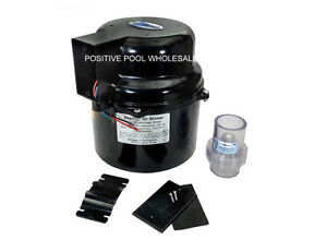 Air Supply Silencer Pool Spa Hot Tub Blower 1 HP 240V 6310220 6310241